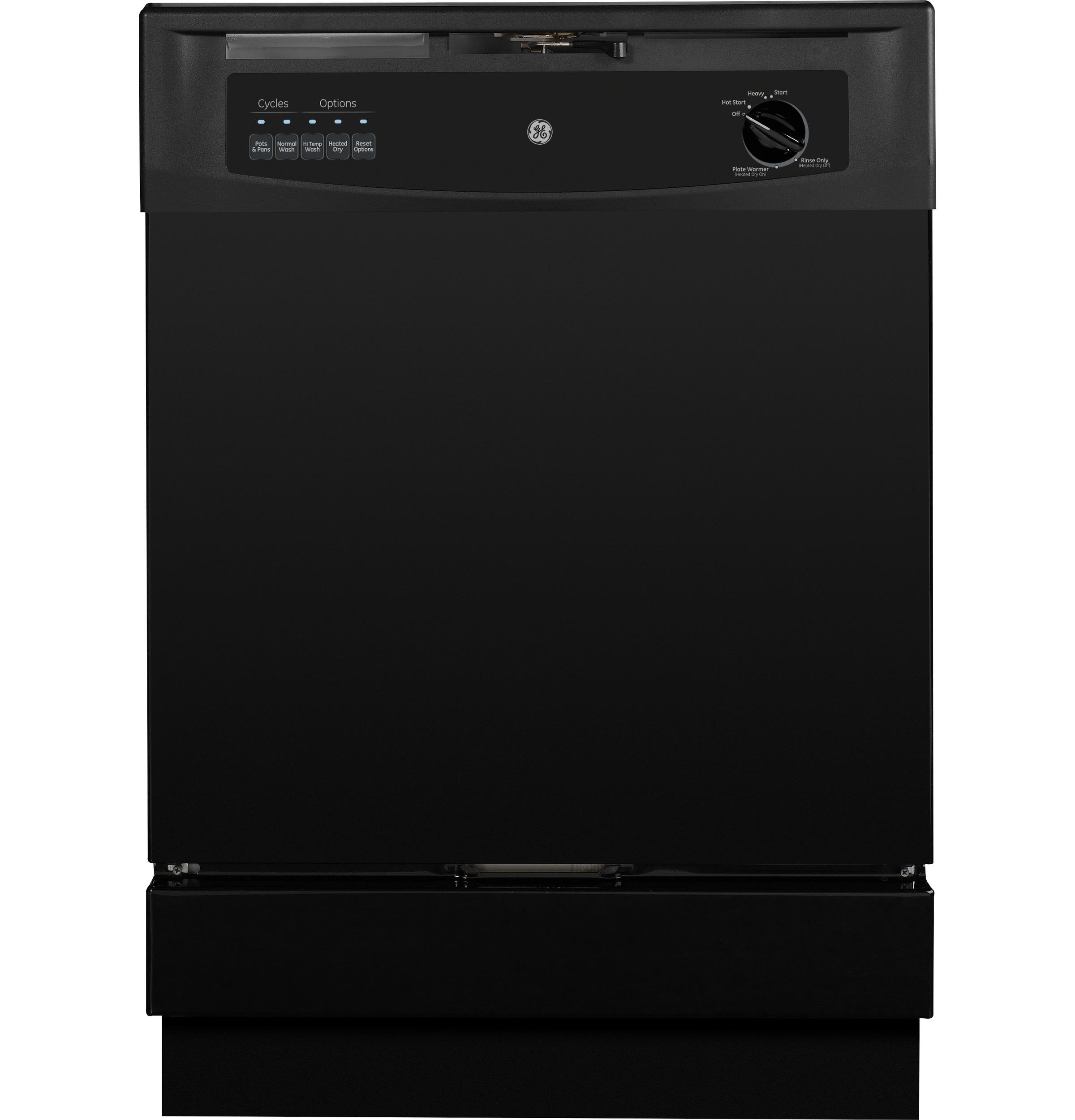 Black Dishwasher Image