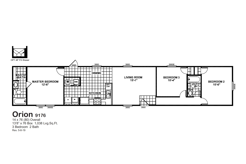 Orion 9176 Floorplan